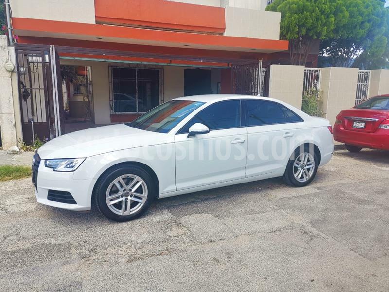 Audi A4 2.0 T S Line (190hp) usado (2018) color Blanco precio $387,000