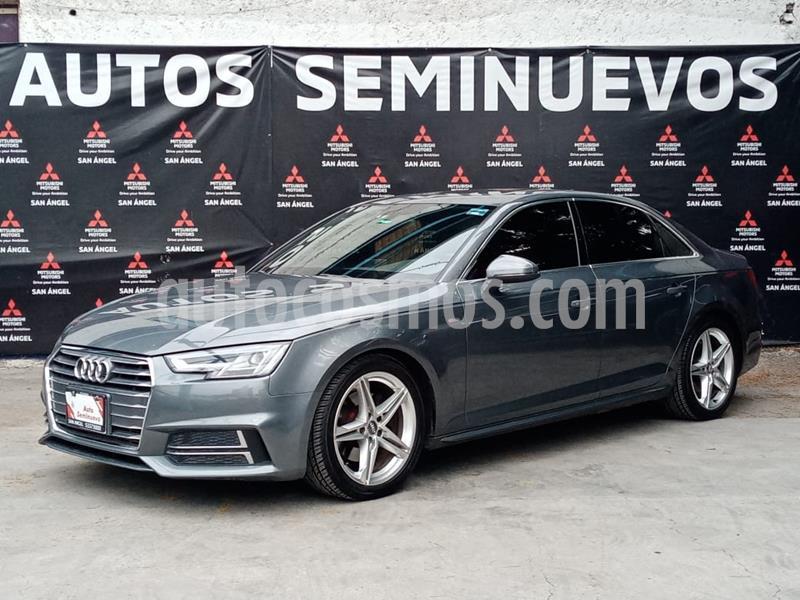 Audi A4 2.0 T S Line (190hp) usado (2017) color Gris precio $395,000
