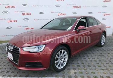 Audi A4 2.0 T Select (190hp) usado (2017) color Vino Tinto precio $368,000