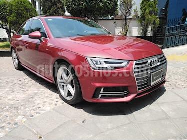 Audi A4 2.0 T S Line (190hp) usado (2017) color Rojo precio $400,000