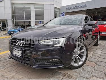 Audi A4 1.8L T Luxury Tiptronic usado (2014) color Gris Plata  precio $289,000