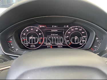 Audi A4 2.0 T Elite Quattro (252hp) usado (2017) color Negro precio $390,000