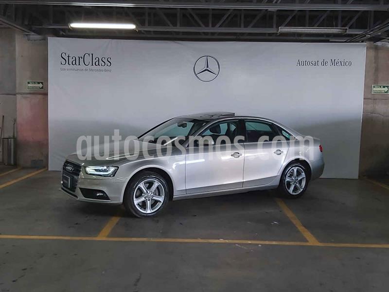 Audi A4 2.0L T Luxury usado (2013) color Plata precio $269,000