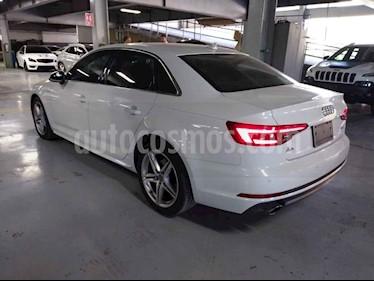 Audi A4 4p 2.0 TFSI 252hp S line S tronic quattro usado (2017) color Blanco precio $450,000