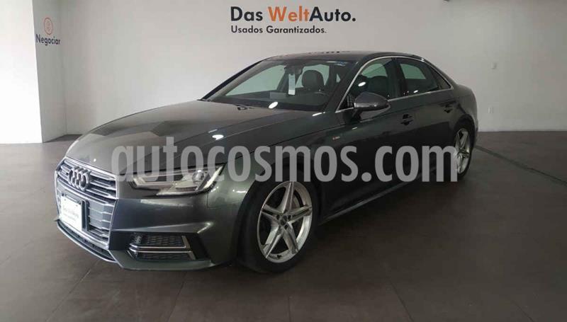 Audi A4 2.0 T S Line (190hp) usado (2017) color Gris precio $459,000