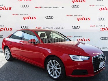 Audi A4 4p Dynamic L4/2.0/T Aut usado (2017) color Rojo precio $360,000
