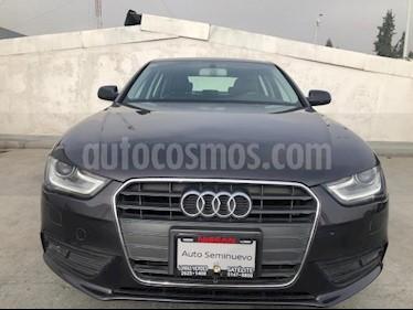 Audi A4 4P TRENDY PLUS 2.0T 225 HP TA PIEL XENON RA-17 QU usado (2015) color Negro precio $230,000