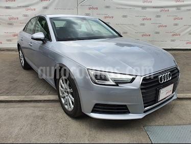 Audi A4 2.0 T Dynamic (190hp) usado (2017) color Plata precio $379,999