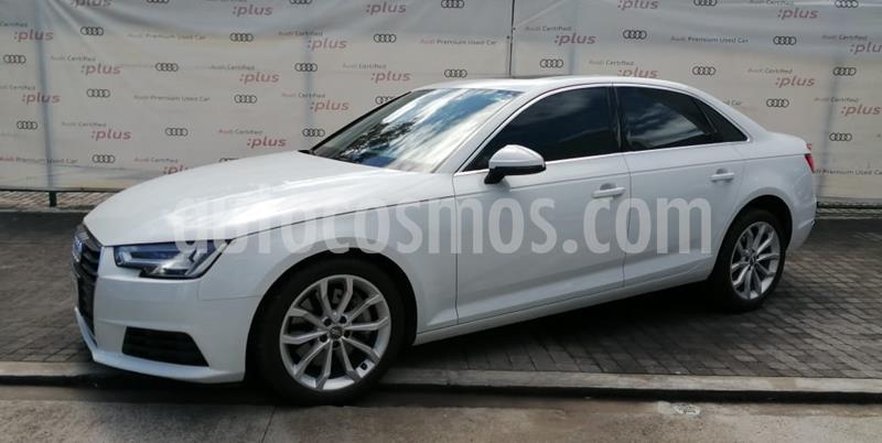 Audi A4 2.0 T Select Quattro (252hp) usado (2017) color Blanco precio $445,000