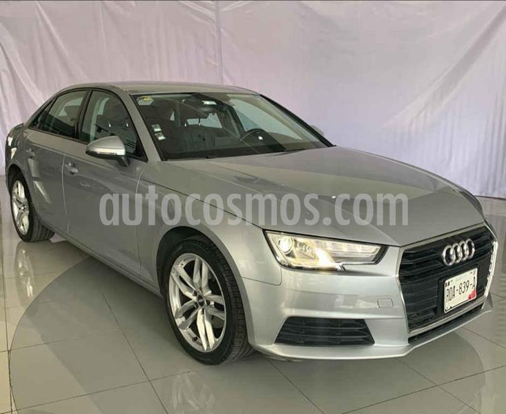 Audi A4 2.0 T Dynamic (190hp) usado (2017) color Plata precio $350,000