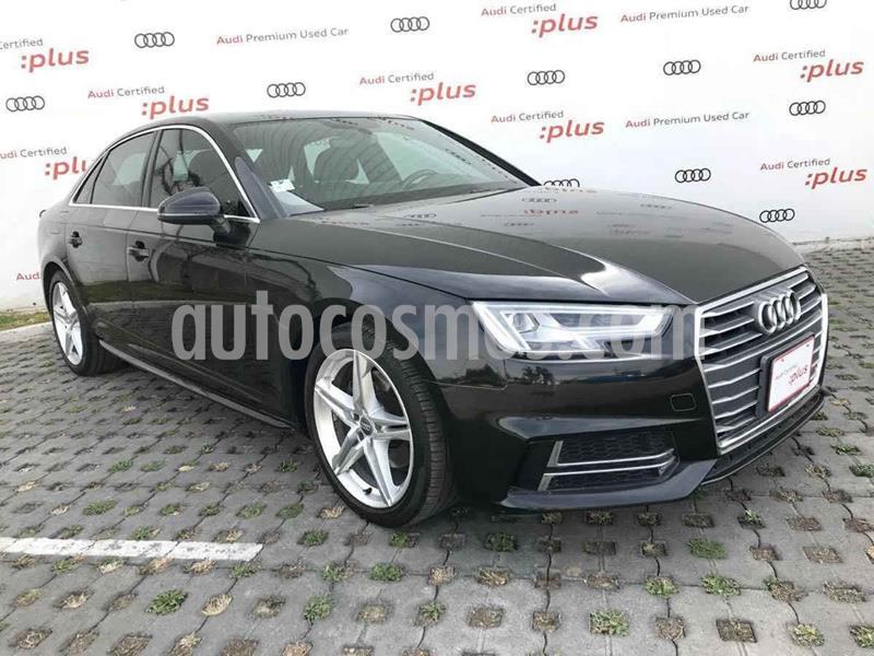 Audi A4 2.0 T S Line (190hp) usado (2017) color Negro precio $363,000