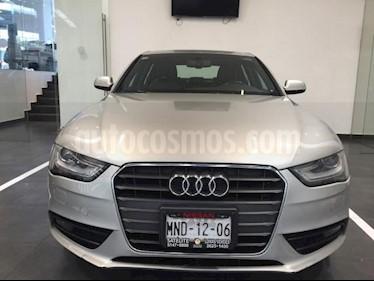 Audi A4 4P LUXURY 2.0T211 HP TA PIEL XENON GPS RA-17 usado (2013) color Plata precio $255,500