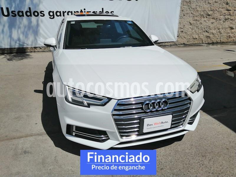 Audi A4 2.0 T S Line (190hp) usado (2017) color Blanco precio $103,750