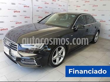 Audi A4 2.0 TDI S Line (190hp) usado (2017) color Negro precio $256,811