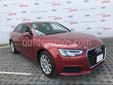Audi A4 2.0 T Select (190hp) usado (2017) color Vino Tinto precio $368,001