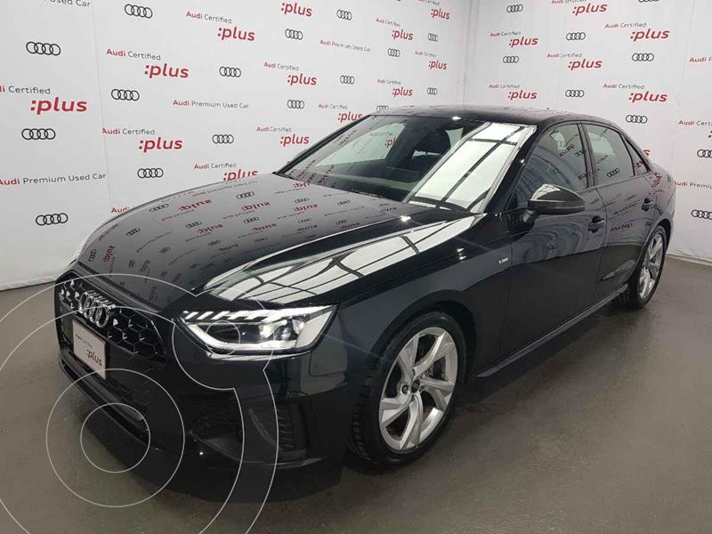 Foto Audi A4 2.0L T S Line (200hp) usado (2021) color Negro precio $810,000