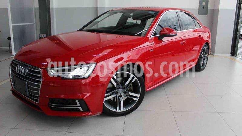 Audi A4 2.0L T S Line (200hp) usado (2018) color Rojo precio $460,000
