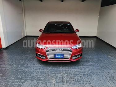 Audi A4 2.0L T Elite Tiptronic Quattro (200hp)  usado (2017) color Rojo precio $522,000