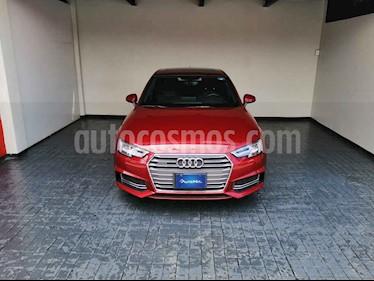 Audi A4 4p Elite L4/2.0/T Aut Quattro usado (2017) color Rojo precio $522,000