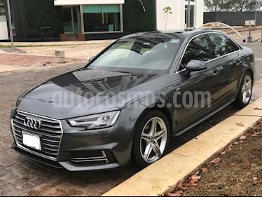 Audi A4 2.0 T S Line (190hp) usado (2017) color Gris Quarzo precio $365,000