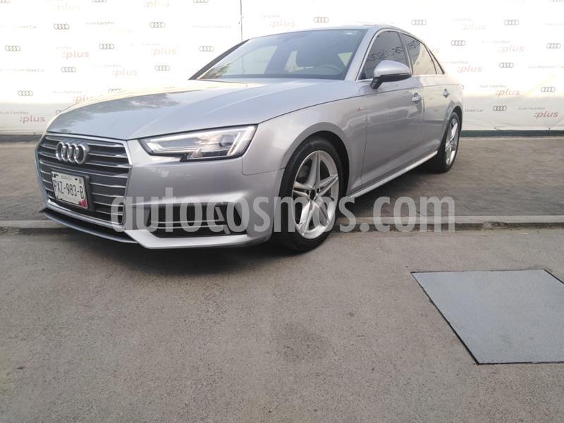 Audi A4 2.0 TDI S Line (190hp) usado (2018) color Plata precio $449,000