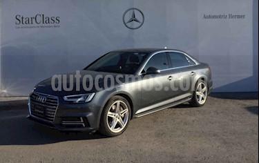 Audi A4 4p S Line L4/2.0/T Aut Quattro usado (2017) color Gris precio $519,900