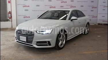 Audi A4 2.0 T S Line Quattro (252hp) usado (2017) color Blanco precio $485,000
