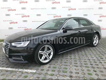 Audi A4 4p S Line L4/2.0/T Aut Quattro usado (2017) color Negro precio $375,000