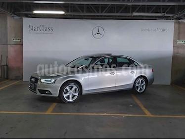 Audi A4 4p Luxury 2.0L Multitronic piel front usado (2013) color Plata precio $259,000