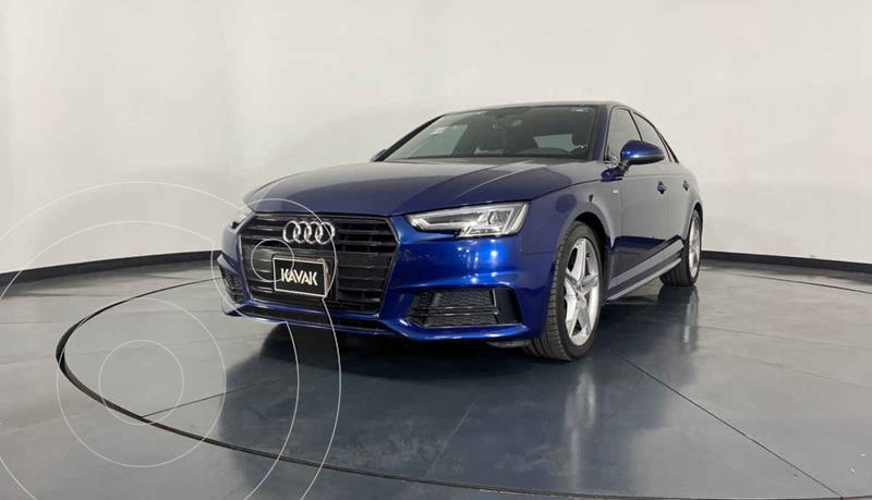 Foto Audi A4 2.0 T S Line Quattro (252hp) usado (2018) color Azul precio $434,999