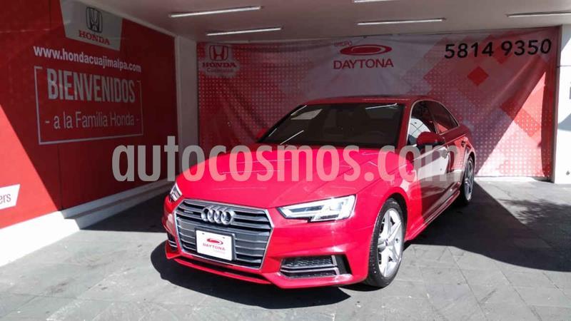 Audi A4 2.0 T S Line (190hp) usado (2017) color Rojo precio $469,000