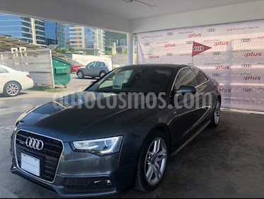 Foto venta Auto usado Audi A5 2.0T S Line Quattro (2014) color Gris precio $399,000