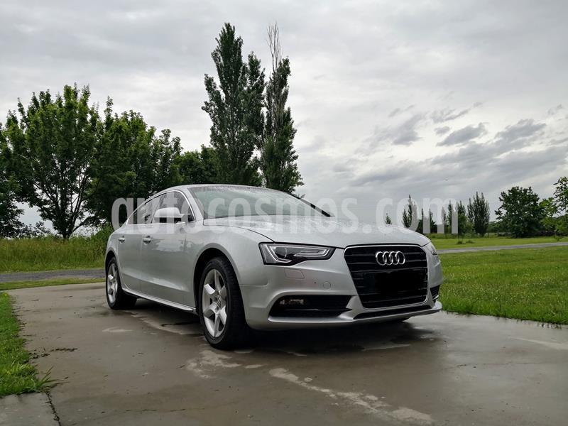 Audi A5 2.0 T FSI Multitronic usado (2013) color Gris Meteorito precio u$s17.500