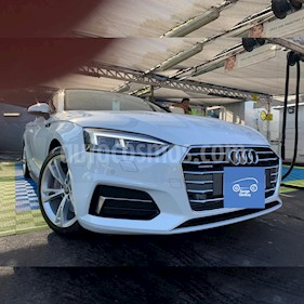 Audi A5 2.0 T FSI Quattro usado (2017) color Blanco Ibis precio $4.599.900