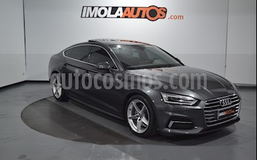 Audi A5 Sportback 2.0 T FSI usado (2018) color Gris Amatista  precio $6.300.000