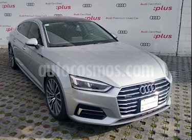 Audi A5 Sportback 2.0T Elite (252Hp) usado (2018) color Plata precio $615,001