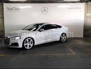 Audi A5 5p S Line L4/2.0/252/T Aut Quattro usado (2018) color Blanco precio $609,000