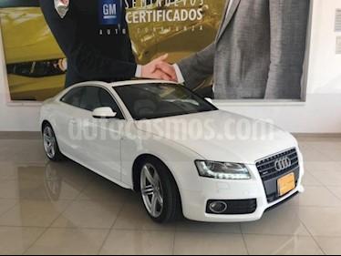 Foto Audi A5 2p S Line L4/2.0/211/Turbo S tronic Quattro usado (2011) color Blanco precio $271,900