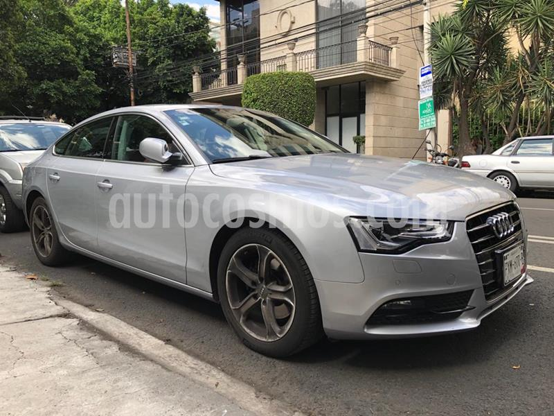 Audi A5 2.0T Luxury Multitronic (230Hp) usado (2016) color Plata precio $340,000
