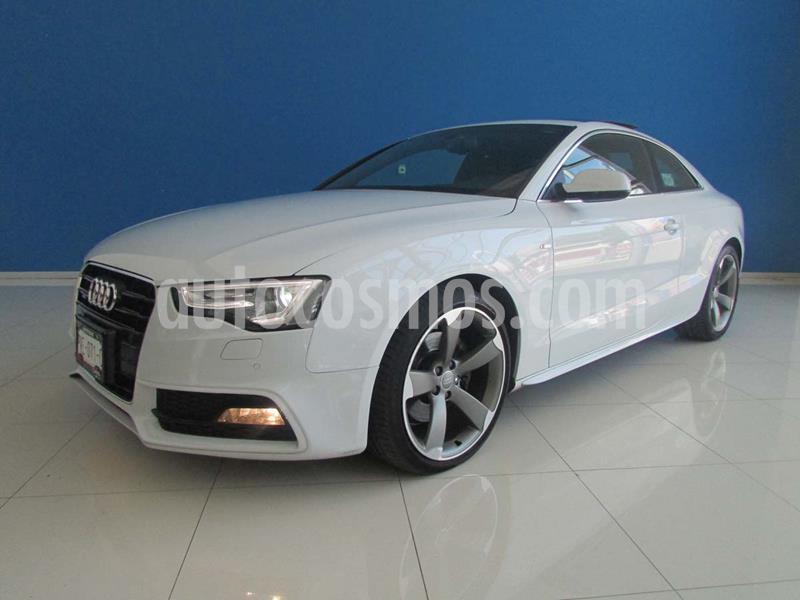 Audi A5 2.0T S-Line Quattro (225Hp) usado (2016) color Blanco precio $445,000