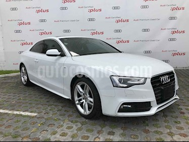 Audi A5 Sportback 2.0T S-Line Quattro (211Hp) usado (2016) color Blanco precio $425,001