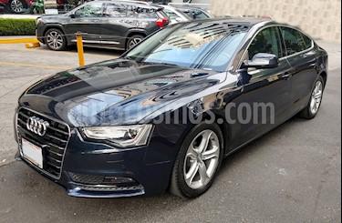 Audi A5 Sportback 1.8T Luxury Multitronic usado (2016) color Azul precio $350,000