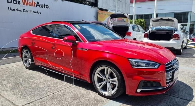 Foto Audi A5 2.0T S-Line (190Hp) usado (2018) color Rojo precio $594,900