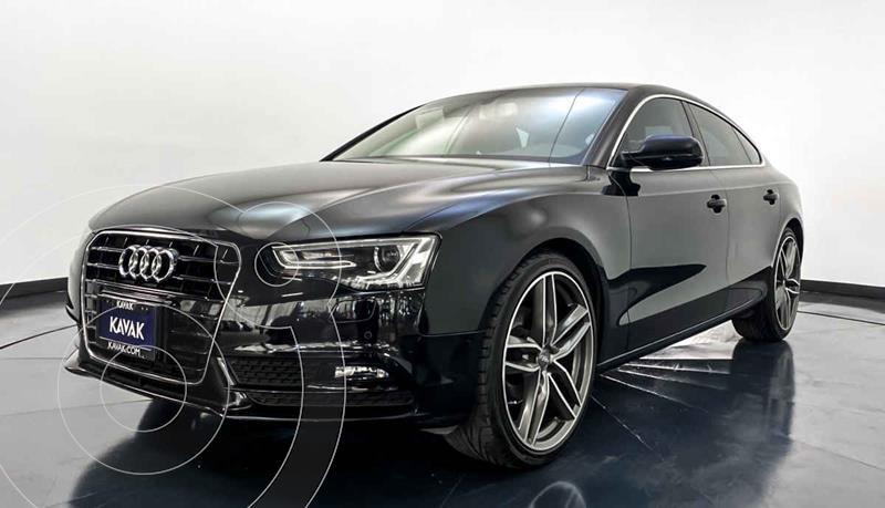 Audi A5 Sportback 1.8T Luxury Multitronic usado (2015) color Negro precio $312,999