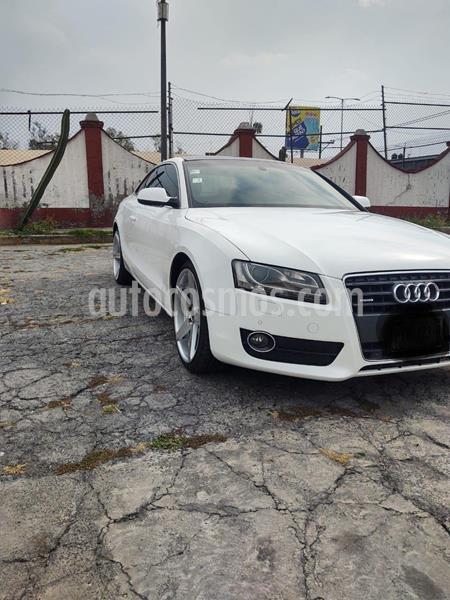 Audi A5 2.0T Luxury S-Tronic Quattro usado (2010) color Blanco precio $220,000