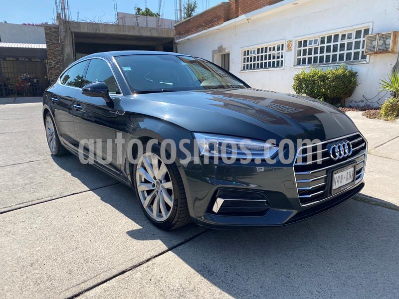 Audi A5 2.0T Select (190Hp) usado (2018) color Gris precio $455,000