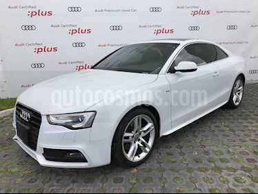 Audi A5 Sportback 2.0T S-Line Quattro (211Hp) usado (2016) color Blanco precio $425,000
