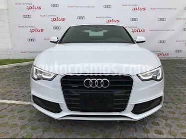 Audi A5 Sportback 2.0T S-Line Quattro (211Hp) usado (2016) color Blanco precio $425,010