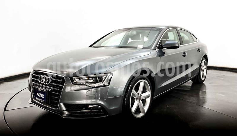 Audi A5 Sportback 2.0T Luxury S-Tronic Quattro usado (2013) color Plata precio $312,999