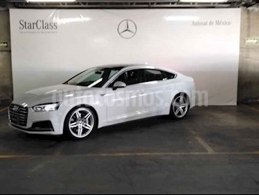 Audi A5 Sportback 2.0T S-Line (252Hp) usado (2018) color Blanco precio $699,000